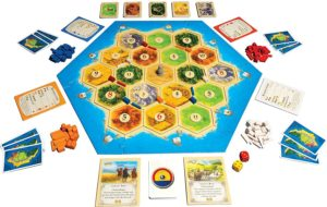 Catan 5th Edition - Trade Build Settle