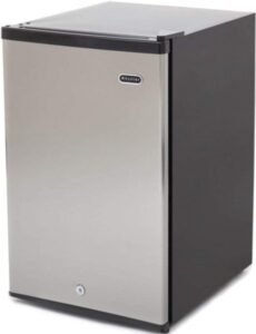 Whynter CUF-210SS Energy Star 2.1 cubic feet Upright Freezer