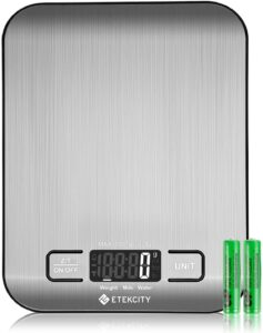 Etekcity Digital Scale (upgraded)