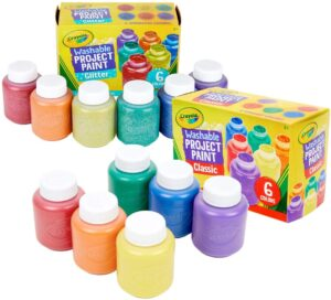 Crayola Washable Kids Paint, 12Count