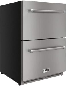"Thor Kitchen 24"" Indoor and Outdoor Double Drawer"