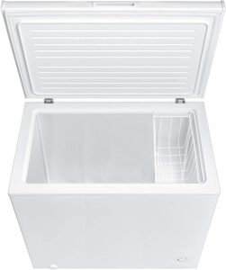 Midea MRC070S0AWW Chest Freezer, 7.0 Cubic Feet